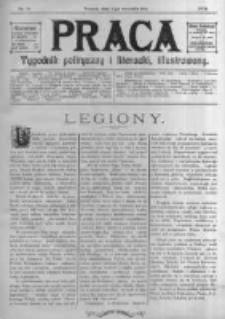 Praca: tygodnik polityczny i literacki, illustrowany. 1914.09.06 R.18 nr36