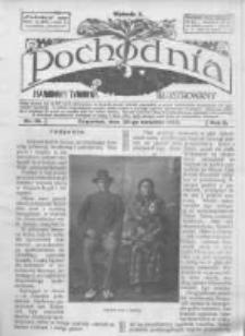 Pochodnia. Narodowy Tygodnik Illustrowany. 1914.04.30 R.2 nr18