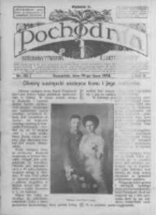 Pochodnia. Narodowy Tygodnik Illustrowany. 1914.07.16 R.2 nr29