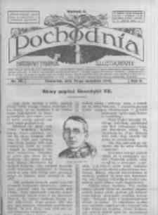 Pochodnia. Narodowy Tygodnik Illustrowany. 1914.09.10 R.2 nr36