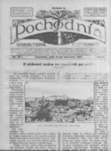 Pochodnia. Narodowy Tygodnik Illustrowany. 1914.09.24 R.2 nr38