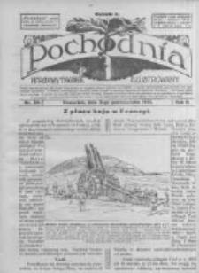 Pochodnia. Narodowy Tygodnik Illustrowany. 1914.10.08 R.2 nr40