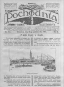 Pochodnia. Narodowy Tygodnik Illustrowany. 1914.10.15 R.2 nr41