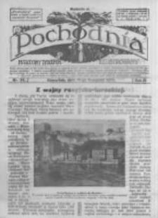 Pochodnia. Narodowy Tygodnik Illustrowany. 1914.11.19 R.2 nr46