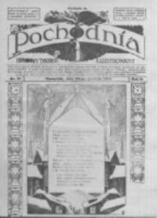 Pochodnia. Narodowy Tygodnik Illustrowany. 1914.12.24 R.2 nr51