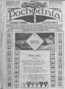 Pochodnia. Narodowy Tygodnik Illustrowany. 1914.12.31 R.2 nr52