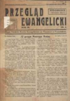 Przegląd Ewangelicki: organ Polskich Zborów Ewangelickich na Pomorzu i w Poznańskiem 1936.01.01 R.3 Nr1