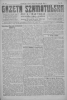 Gazeta Szamotulska: pismo dla rodzin polskich powiatu szamotulskiego, obornickiego i międzychodzkiego 1923.04.24 R.2 Nr47