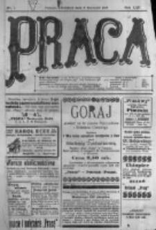 Praca: tygodnik polityczny i literacki, illustrowany. 1918.01.06 R.22 nr1
