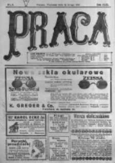 Praca: tygodnik polityczny i literacki, illustrowany. 1918.02.24 R.22 nr8
