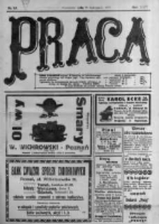 Praca: tygodnik polityczny i literacki, illustrowany. 1918.11.10 R.22 nr45