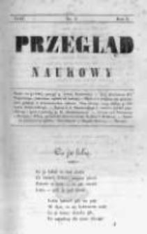Przegląd Naukowy, Literaturze, Wiedzy i Umnictwu Poświęcony. 1843 T.1 nr2