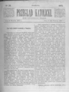 Przegląd Katolicki. 1885.09.24 R.23 nr39