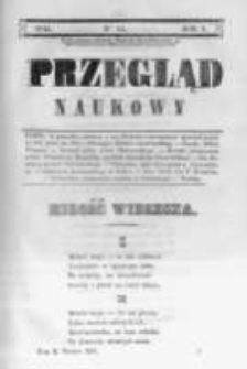 Przegląd Naukowy, Literaturze, Wiedzy i Umnictwu Poświęcony. 1844 T.2 nr14