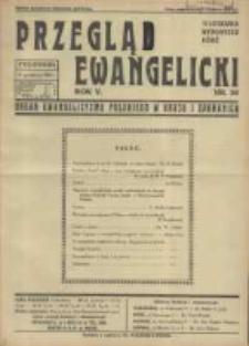 Przegląd Ewangelicki: organ ewangelizmu polskiego w kraju i zagranicą 1938.12.11 R.5 Nr50