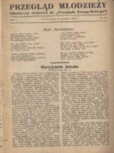 """Przegląd Młodzieży: miesięczny dodatek do """"Przeglądu Ewangelickiego"""" 1934.12.24 R.1 Nr12"""