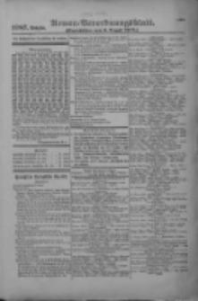 Armee-Verordnungsblatt. Verlustlisten 1916.08.08 Ausgabe 1087