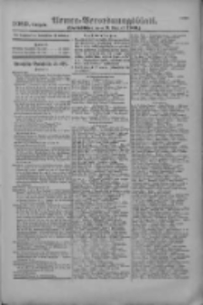 Armee-Verordnungsblatt. Verlustlisten 1916.08.09 Ausgabe 1089