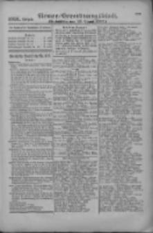 Armee-Verordnungsblatt. Verlustlisten 1916.08.10 Ausgabe 1091