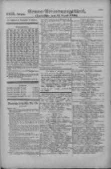 Armee-Verordnungsblatt. Verlustlisten 1916.08.12 Ausgabe 1095