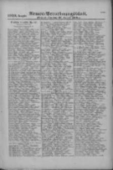 Armee-Verordnungsblatt. Verlustlisten 1916.08.15 Ausgabe 1100