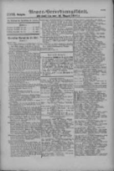 Armee-Verordnungsblatt. Verlustlisten 1916.08.16 Ausgabe 1102