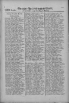 Armee-Verordnungsblatt. Verlustlisten 1916.08.18 Ausgabe 1109