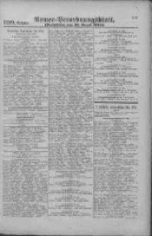 Armee-Verordnungsblatt. Verlustlisten 1916.08.18 Ausgabe 1110