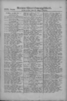 Armee-Verordnungsblatt. Verlustlisten 1916.08.19 Ausgabe 1112