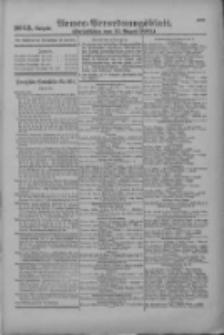 Armee-Verordnungsblatt. Verlustlisten 1916.08.11 Ausgabe 1093