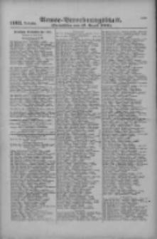 Armee-Verordnungsblatt. Verlustlisten 1916.08.16 Ausgabe 1103