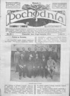 Pochodnia. Narodowy Tygodnik Illustrowany. 1914.04.16 R.2 nr16