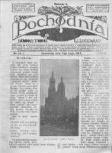 Pochodnia. Narodowy Tygodnik Illustrowany. 1914.05.07 R.2 nr19