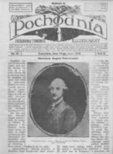 Pochodnia. Narodowy Tygodnik Illustrowany. 1914.05.21 R.2 nr21