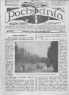 Pochodnia. Narodowy Tygodnik Illustrowany. 1914.06.04 R.2 nr23