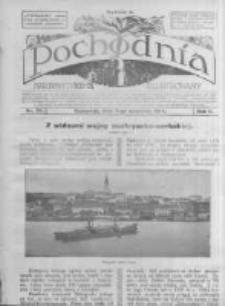 Pochodnia. Narodowy Tygodnik Illustrowany. 1914.09.03 R.2 nr35