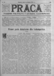 Praca: tygodnik polityczny i literacki, illustrowany. 1909.12.05 R.13 nr49