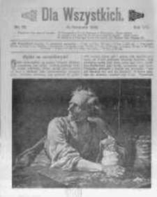 Dla Wszystkich. 1908 R.8 nr22