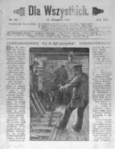 Dla Wszystkich. 1913 R.13 nr22