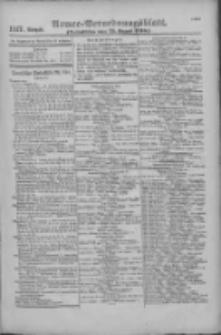 Armee-Verordnungsblatt. Verlustlisten 1916.08.23 Ausgabe 1117