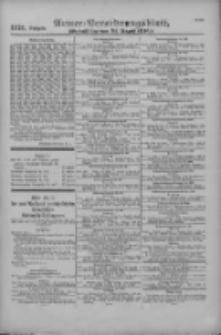 Armee-Verordnungsblatt. Verlustlisten 1916.08.25 Ausgabe 1121