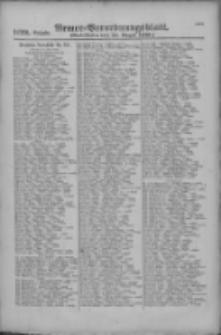 Armee-Verordnungsblatt. Verlustlisten 1916.08.25 Ausgabe 1122
