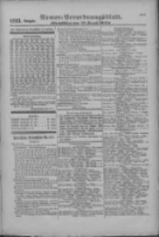 Armee-Verordnungsblatt. Verlustlisten 1916.08.26 Ausgabe 1123