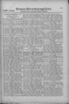 Armee-Verordnungsblatt. Verlustlisten 1916.08.29 Ausgabe 1128