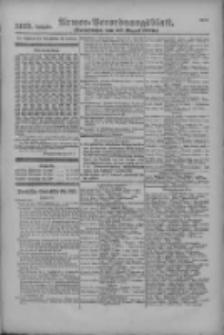 Armee-Verordnungsblatt. Verlustlisten 1916.08.30 Ausgabe 1129