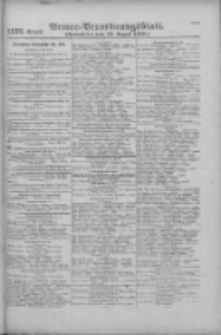 Armee-Verordnungsblatt. Verlustlisten 1916.08.31 Ausgabe 1132