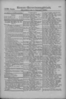 Armee-Verordnungsblatt. Verlustlisten 1916.09.05 Ausgabe 1139