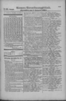 Armee-Verordnungsblatt. Verlustlisten 1916.09.07 Ausgabe 1143