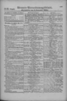Armee-Verordnungsblatt. Verlustlisten 1916.09.09 Ausgabe 1147