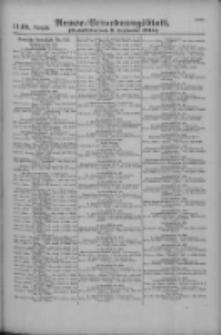 Armee-Verordnungsblatt. Verlustlisten 1916.09.09 Ausgabe 1148